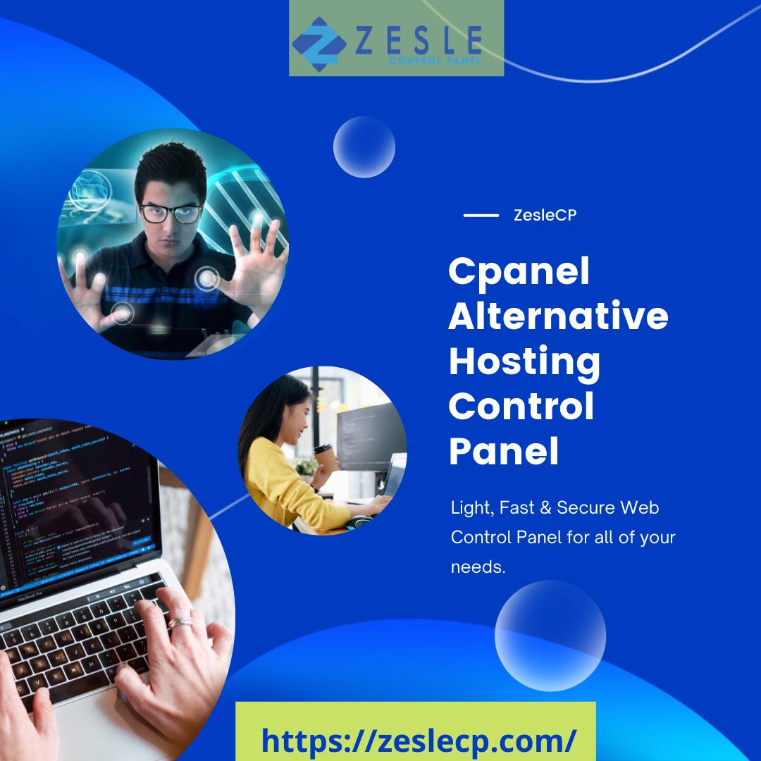 ZesleCP cpanel alternative